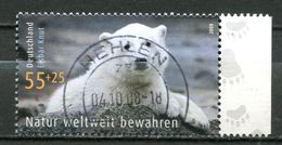 """Germany 2008 Michel Nr.2656""""Umweltschutz,Natur Bewahren,Eisbär Knut"""" 1 Wert Used - Umweltschutz Und Klima"""