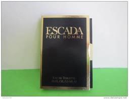 ESCADA  - Echantillon (collector - Ne Pas Utliser) Date Des Années 1990 - Perfume Samples (testers)