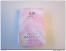 COURREGES - SWEET COURREGES - Echantillon (collector - Ne Pas Utliser) Date Des Années 1990 - Perfume Samples (testers)