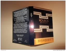 SAINT LAURENT YVES - KOUROS - Echantillon (collector - Ne Pas Utiliser) Date Des Années 1990 - Echantillons (tubes Sur Carte)