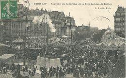 Paris XIVè - Souvenir Du Panorama De La Fête Du Lion De Belfort - France