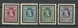 LITAUEN Lithuania 1927 Michel 274 - 277 * - Lituanie