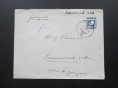 Feldpost 2. WK GA Umschlag Spasmosedine Digibaine Sommerach Am Main. FP Nr. 04229 C - Allemagne