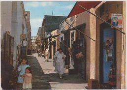 AFRIQUE,AFRICA,LIBYE,LIBYA,TRIPOLI,TIMBRE,VUE ANIMEE,CARTE PHOTO AULA - Libye