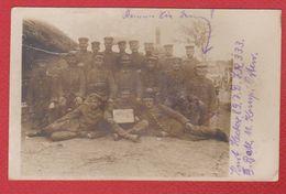 Belarus  --secteur De   Krevo  --  Carte Photo Soldats Allemands  --  89 Inf Div  --  11/7/1916 - Belarus