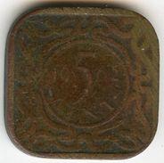 Surinam Suriname 5 Cents 1962 KM 12.1 - Surinam 1975 - ...
