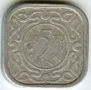 Surinam Suriname 5 Cents 1976 KM 12.1a - Surinam 1975 - ...