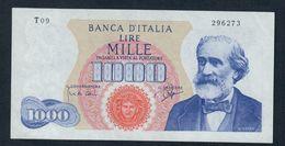 1000 LIRE VERDI I° TIPO 14 07 1962  Spl+ LOTTO 212 - [ 2] 1946-… Republik