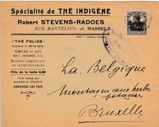 Censure Hasselt - Spécialité De Thé Indigène Stevens-Radoes Hasselt - Guerre 14-18