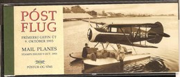 Ijsland Islande 1993 Yvertn° Carnet C 741 *** MNH Cote 25 Euro Avions Vliegtuigen Airplanes - Booklets