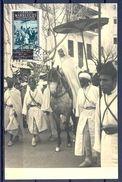 1955 , MARRUECOS , XXX ANIV. DE LA EXALTACIÓN AL TRONO DE S.A. EL JALIFA , ED. 408 , MAT. DE TETUAN - Marruecos Español
