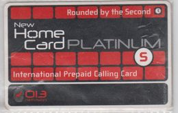 ISRAEL 2011 NEW HOME PLATINUM S 013 NETVISION USED PHONE CARD - Israel