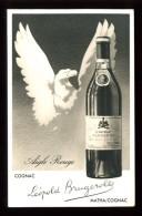 """Cognac """"Léopold BRUGEROLLE Aigle Rouge"""" - Matha / Cognac - CP Publicitaire - Vignes"""