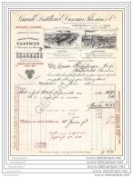 68 302 MULHOUSE HAUT RHIN 1910 GRANDE DISTILLERIE E. CUSENIER FILS ( Siege PARIS CHARENTON SEINE ) Usine ORNANS COGNAC - Francia