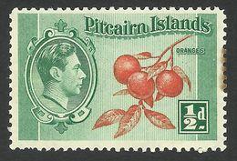 Pitcairn Islands, 1/2 P. 1940, Sc # 1, Mi # 1, MH - Stamps