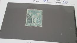 LOT 381674 TIMBRE DE FRANCE OBLITERE N°64 VALEUR 50 EUROS - 1876-1878 Sage (Type I)