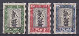 Danzig MiNr. 217-219 * Gepr. - Danzig