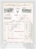68 301 MULHOUSE MULHAUSEN HAUT RHIN 1915 GRANDE DISTILLERIE E. CUSENIER FILS ( Ecrite En Allemand ) - Francia