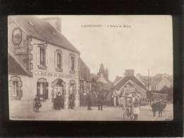 29 Lannéanou L'entrée Du Bourg édit. Plaçon  Animée Café épicerie Menuiserie Beuzit Ricou - France
