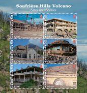 Montserrat 2017 Soufriere Hills Volcano - Volcanos