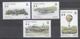 Hong Kong 1984 Scott 423-6 Aviation MNH** - Hong Kong (...-1997)