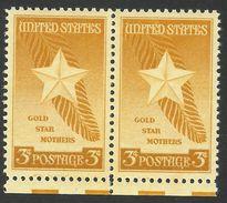 United States,  3 C.1948, Sc # 969, Mi # 582, MNH Pair - United States