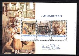 Nederland 2018 Persoonlijke Zegels PostNL Thema: Anton Pieck: Ambachten, Bakker, Kruidenier, - Periode 2013-... (Willem-Alexander)