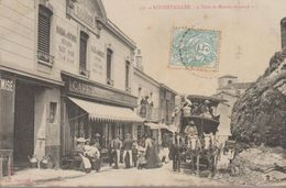"310- Rochetaillée ""tout Le Monde Descend"" Belle Carte Animée - Rochetaillee"