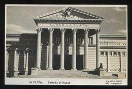 Argentina. La Plata. *Entrada Al Museo* Ed. Foto Kohlmann Nº 350. Nueva. - Argentina