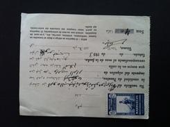 Maroc Espagnol - Marruecos - Tetuan 1953 - Recibo De Alquiler N° 2 - Maroc Espagnol