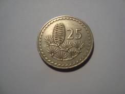 MONNAIE CHYPRE 25 MILS 1968 - Cyprus