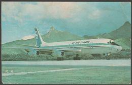 Air New Zealand Douglas DC-8 - Air New Zealand Postcard - 1946-....: Moderne