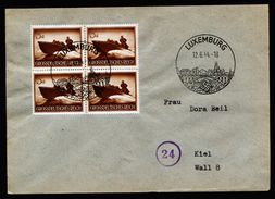 A5056) DR Brief Von Luxemburg 12.6.44 Nach Kiel MeF Mi.873 (4) - Allemagne