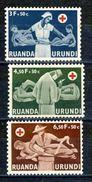 Ruanda - Urundi Nr 202-204    Neufs - Postfris - MNH  (XX) - Ruanda