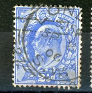 GRANDE BRETAGNE -    N° Yt 110 Obli. - 1902-1951 (Re)