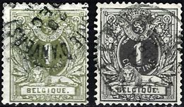 Belgium 1869 - Lying Lion ( Mi 23A - YT 26/26a ) - 1869-1888 Lying Lion