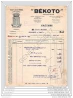 37 752  METTRAY INDRE ET LOIRE 1948 Materiel Avicole BEKOTO ˆ Mr DELATTRE - France