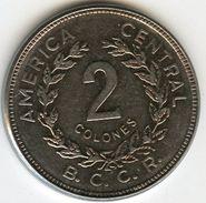 Costa Rica 2 Colones 1983 KM 211.1 - Costa Rica