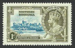 Northern Rhodesia, 1 P. 1935, Sc # 18, Mi # 18, MH - Rhodésie Du Nord (...-1963)