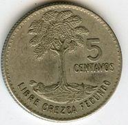 Guatemala 5 Centavos 1965 KM 266.1 - Guatemala