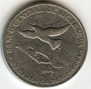 Nicaragua 50 Centavos 1994 KM 83 - Nicaragua