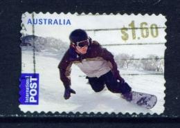 AUSTRALIA  -  2011  Skiing  $1.60  International Post  Self Adhesive  Used As Scan - Oblitérés