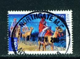 AUSTRALIA  -  2011  Christmas  $1.50  International Post  Sheet Stamp  Used As Scan - 2010-... Elizabeth II