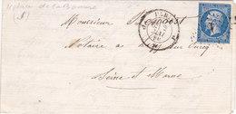 360 - NAPOLEON 14 -  2.5.60  -  PARIS  -  LIZY SUR OURCQ - Postmark Collection (Covers)