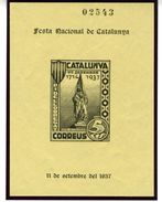 Bloc 1938 PI DE LLOBREGAT    V293 - Viñetas De La Guerra Civil