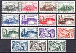 Fezzan  - 1946 -  Série Courante - N° 28 à 42 - Neufs** - MNH - Fezzan (1943-1951)