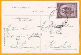 1933 - CP Vers Kinshasa, Congo Belge - Courrier De Haute Mer - Compagnie Maritime Belge - Belgisch-Kongo