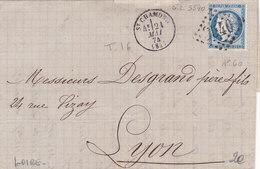 361 - CERES 60 - 21.5.74  - SAINT CHAMOND  -   LYON - Postmark Collection (Covers)
