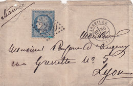 361 - CERES 60 - 30.4.72  - MARSEILLE  -  LYON - Postmark Collection (Covers)