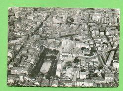 CPSM  FRANCE  38  ~  GRENOBLE  ~ 3  Vue Panoramique Aérienne  ( Cim Dentellée 1956 )  2 Scans - Grenoble